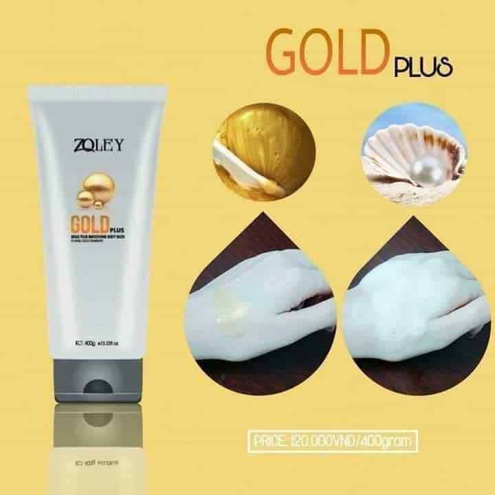 sua tam Zoley Gold Plus 400ml loai nho 2