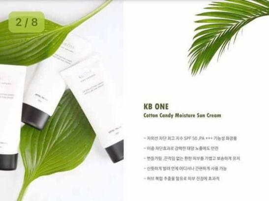 Kem Chống Nắng KbOne Cotton Candy Moisture Sun Cream
