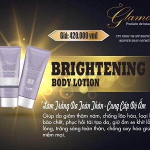 Kem body toàn thân Glamore (brightening body lotion)