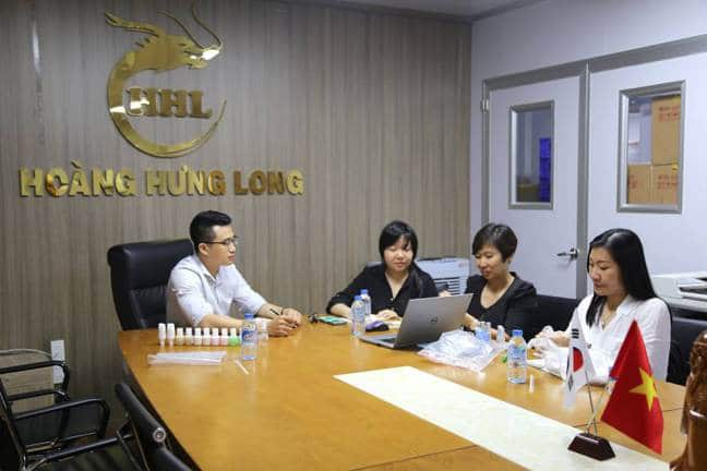 Công ty Hoàng Hưng Long gặp gỡ đối tác từ Malaysia